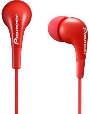 Наушники Pioneer SE-CL502-R красный наушники pioneer se cl502 r