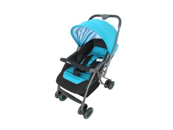 Коляска прогулочная Jetem Uno (light blue 16) jetem прогулочная коляска uno jetem розовый