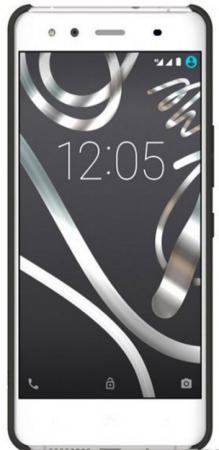 Чехол BQ для BQ Aquaris X5 черный E000641 чехол для смартфона bq aquaris x5 green candy e000643