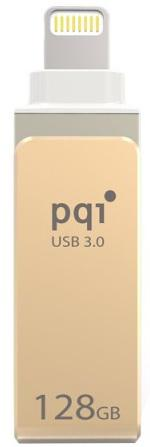 Флешка USB 128Gb PQI iConnect mini 6I04-128GR2001 золотистый usb накопитель pqi iconnect 128gb серебристый 6i01 128gr1001