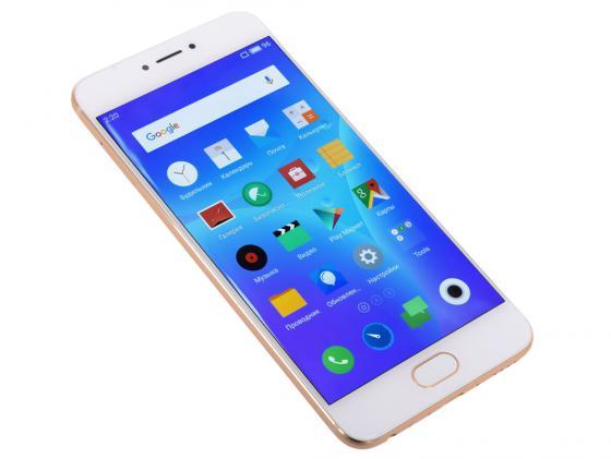 "Смартфон Meizu Pro 6 M570H золотистый 5.2"" 32 Гб LTE Wi-Fi GPS 3G M570H 32Gb Gold"