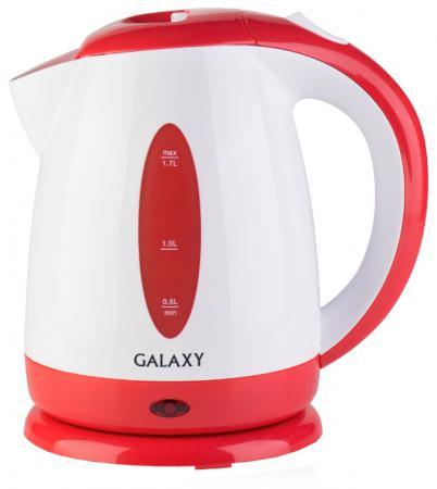 Чайник GALAXY GL0221 2200 Вт 1.7 л пластик красный