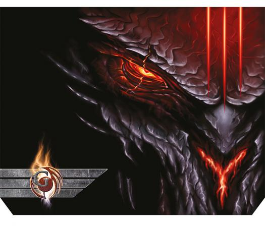 Коврик для мыши Dialog Gan-Kata PGK-07 diablo с рисунком дьявол цена и фото