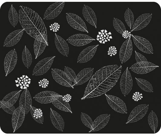 Коврик для мыши Dialog PM-H15 leafs черный с рисунком листья бермуды чино с рисунком листья 10 16 лет page 5