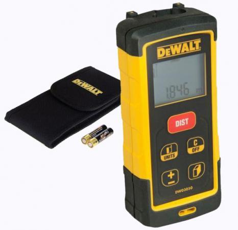 Лазерный дальномер DeWalt DW 03050 лазерный уровень dewalt dw 088 k