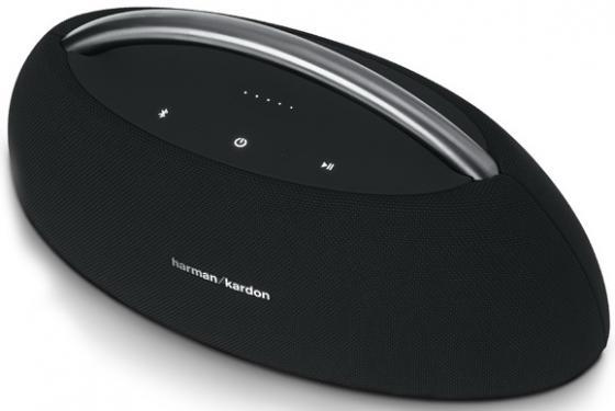 Акустическая система Harman Kardon GO + PLAY Mini черный HKGOPLAYMINIBLKEU harman kardon aura emerald беспроводная bluetooth аудио сабвуфер компьютер телевизор малый громкоговоритель всенаправленная звуковая стена уголь черный