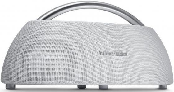 Акустическая система Harman Kardon GO + PLAY Mini белый HKGOPLAYMINIWHTEU беспроводная hi fi акустика harman kardon go