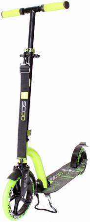 Самокат двухколёсный Y-SCOO RT 230 Slicker NEW Technology green зеленый 2016 new 2600w infinitely variable low noise anion technology pet hair dryer dog blower blowing machine