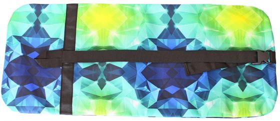 Чехол-портмоне Y-SCOO для самоката 180 - Diamond Emerald разноцветный складной y scoo rt чехол портмоне складной для самоката y scoo 180 clio серый
