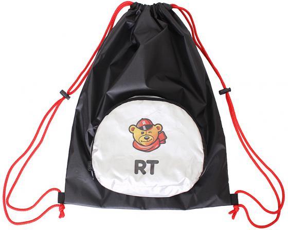 все цены на Мешок-рюкзак RichToys на самокат и велосипед - Снежный Барс черный складной онлайн