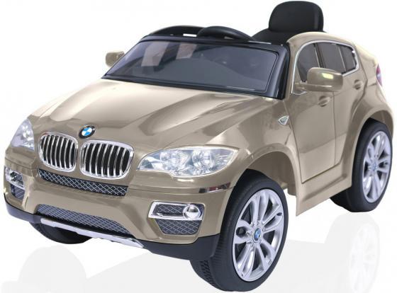 Электромобиль RT на 4-х колесах BMW X6 12V R/C champagne 258 ultra bright led daytime running light led drl light for bmw x6 e71 10 13 led drl day running lights 12v 8 lamp white color