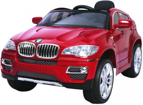 Электромобиль RT на 4-х колесах BMW X6 12V R/C red metallic 258 электромобили weikesi jj014
