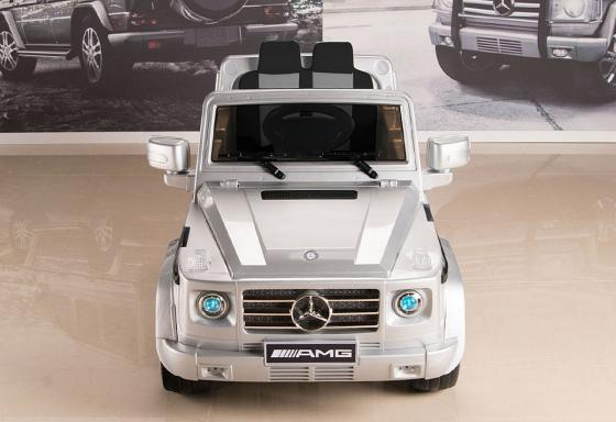 Электромобиль RT Mercedes-Benz AMG NEW Version 12V R/C silver с резиновыми колесами DMD-G55 электромобили weikesi jj014