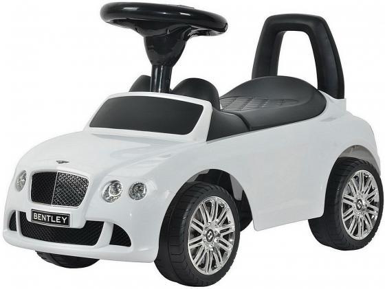 Каталка-машинка R-Toys Bentley пластик от 1 года музыкальная белый 326 каталка chilok bo машинка бентли красный 326