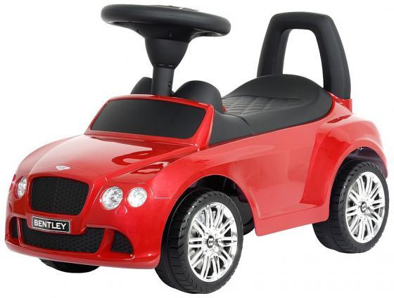 Каталка-машинка R-Toys Bentley пластик от 1 года музыкальная красный 326 rt 326 каталка автомобиль bentley с музыкой красный