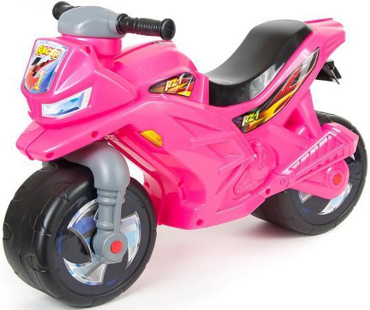 Каталка-мотоцикл Rich Toys Racer RZ 1 пластик от 18 месяцев розовый