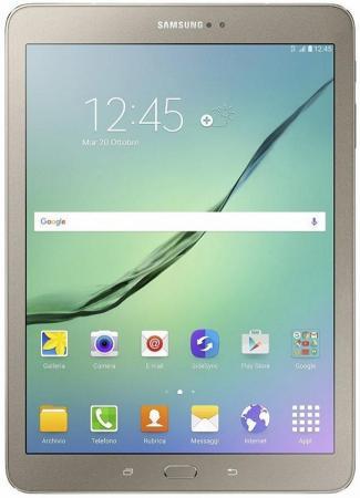 Планшет Samsung Galaxy Tab S2 9.7 32Gb золотистый Wi-Fi 3G 4G Bluetooth Android SM-T819 SM-T819NZDESER samsung galaxy tab 2 10 1 wi fi 3g