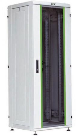 Шкаф сетевой 18U ITK LINEA N LN35-18U66-G 600х600mm стеклянная передняя дверь серый filippa k пиджак