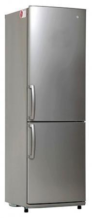 Холодильник LG GA-B409UMDA серебристый