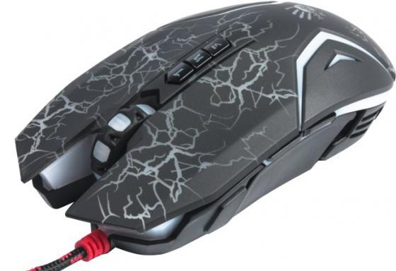 Мышь проводная A4TECH Bloody N50 Neon чёрный USB a4tech n50