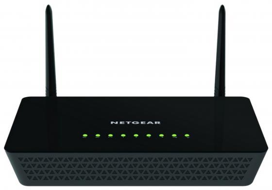 Беспроводной маршрутизатор NetGear R6220-100PES 802.11aс 1167Mbps 5 ГГц 2.4 ГГц 4xLAN USB черный