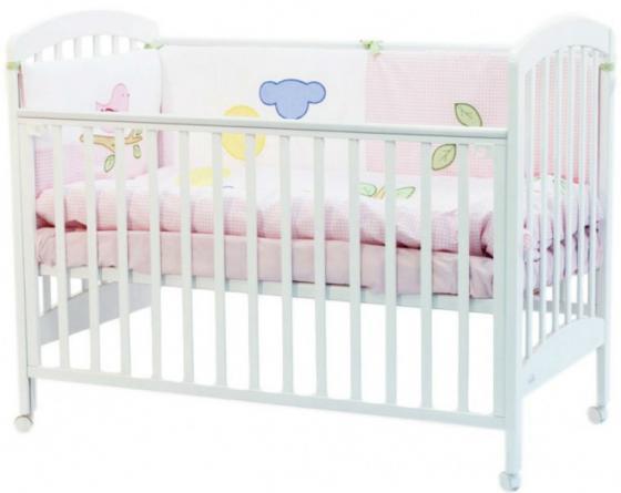Кроватка Fiorellino Dalmatina (white) цены онлайн