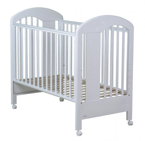 Кроватка Fiorellino Fiore (white) кроватка fiorellino fiore 120х60 white