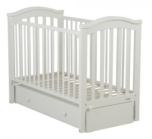 Кровать с маятником Fiorellino Slovenia (white) кровать подростковая fiorellino lola white