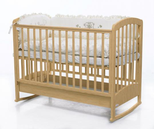 Кроватка-качалка Fiorellino Zolly (natur) цены