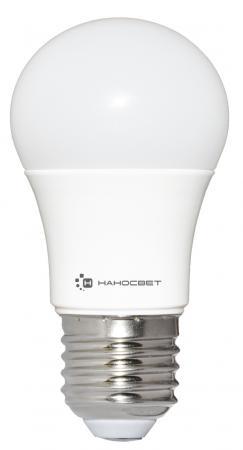Лампа светодиодная шар Наносвет E27/827 EcoLed L198 E27 18W 2700K энергосберегающая лампа наносвет l251 e14 840 ecoled