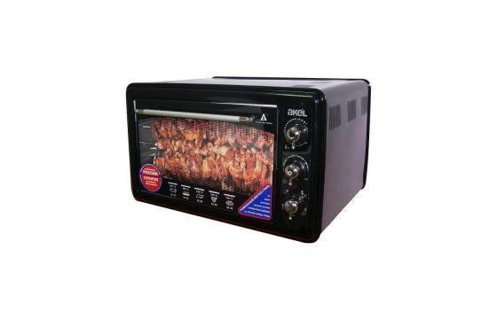 Мини-печь Akel AF-740 чёрный цены онлайн