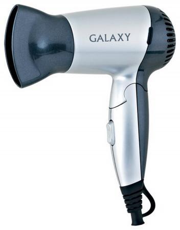 Фен GALAXY GL4303 1200 чёрный серебристый фен galaxy gl4326 чёрный