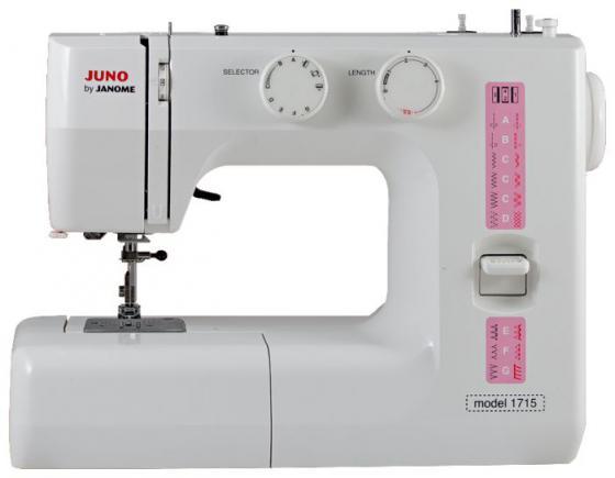 лучшая цена Швейная машина Janome Juno 1715 белый