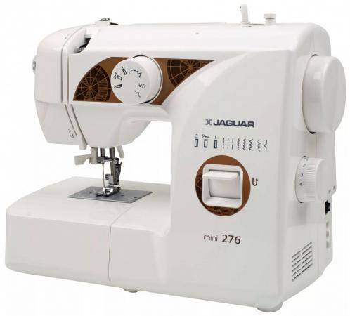 Швейная машина Jaguar Mini 276 белый цена