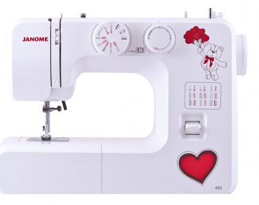 Швейная машина Janome 495 белый швейная машина vlk napoli 2400