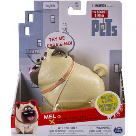 Фигурка Spin Master Secret Life of Pets - Mel 20072308 со звуковыми эффектами росмэн пакет подарочный the secret life of pets 230 180 100