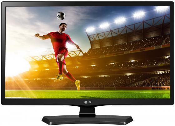 Телевизор 28 LG 28MT48S-PZ черный 1366x768 50 Гц Smart TV Wi-Fi HDMI USB lg 23mt77v pz
