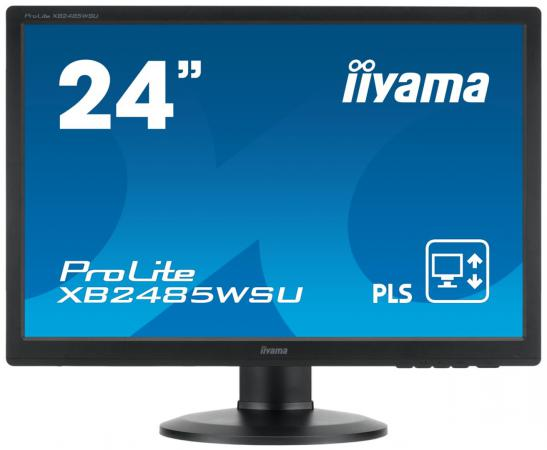 Монитор 24 iiYama X2485WS-B3 черный IPS 1920x1080 250 cd/m^2 4 ms VGA DVI DisplayPort Аудио