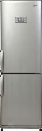 Холодильник LG GA-B409ULQA серебристый холодильник lg ga b409ulqa серебристый