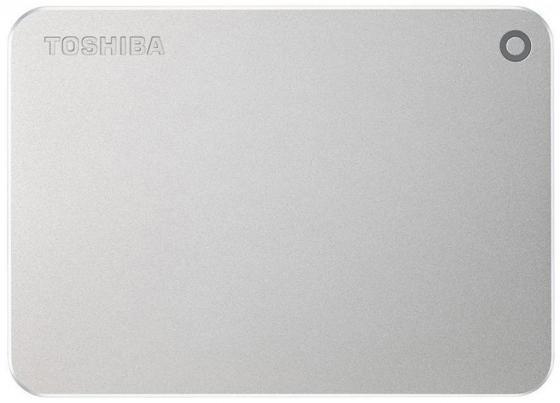 """все цены на Внешний жесткий диск 2.5"""" USB 3.0 3Tb Toshiba Canvio Premium серебристый HDTW130ECMCA онлайн"""
