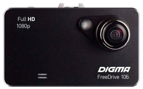 Видеорегистратор Digma Free Drive 106 1920x1080 черный