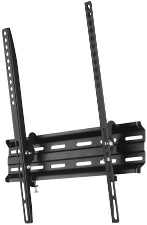 Кронштейн HAMA H-118105 черный для ЖК ТВ 32-65 настенный VESA 400x400 до 35кг кронштейн hama h 118104 черный для жк тв до 32 65 настенный фиксированный vesa 400x400 до 35кг