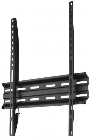 Кронштейн HAMA H-118104 черный для ЖК ТВ до 32-65 настенный фиксированный VESA 400x400 до 35кг кронштейн hama h 118104 черный для жк тв до 32 65 настенный фиксированный vesa 400x400 до 35кг