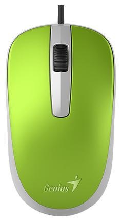 Фото - Мышь проводная Genius Genius DX-120 зелёный USB мышь genius dx 120 calm black usb