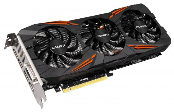 Видеокарта 8192Mb Gigabyte GeForce GTX1070 G1 GAMING PCI-E 256bit GDDR5 DVI HDMI DP GV-N1070G1 GAMING-8GD Retail видеокарта 8192mb msi geforce gtx 1080 gaming x 8g pci e 256bit gddr5x dvi hdmi dp retail