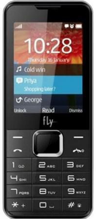 Мобильный телефон Fly FF243 черный 2.4 32 Мб стоимость