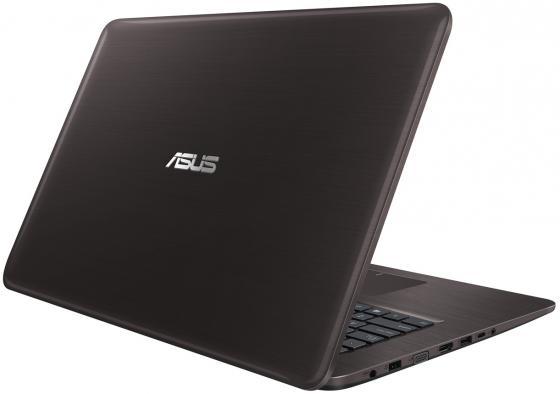 """Ноутбук ASUS K756UJ 17.3"""" 1600x900 Intel Core i3-6100U 1 Tb 6Gb nVidia GeForce GT 920M 2048 Мб коричневый Windows 10 Home 90NB0A21-M00890"""