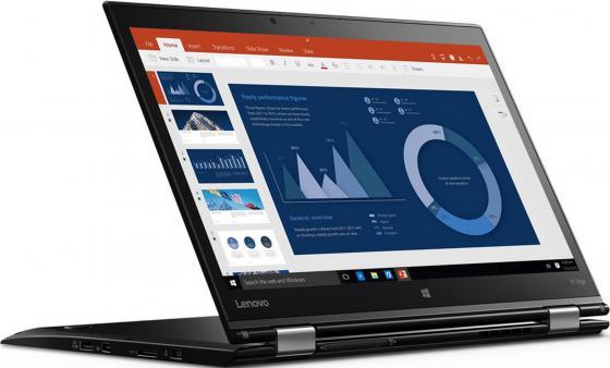 Ноутбук Lenovo ThinkPad X1 Yoga 14 2560x1440 Intel Core i7-6500U SSD 512 8Gb Intel HD Graphics 520 черный Windows 10 Home 20FRS0SD00 ноутбук трансформер lenovo thinkpad yoga 460 14 intel core i7 6500u 2 5ггц 8гб 256гб ssd intel hd graphics 520 windows 10 professional черный [20el0017rt]