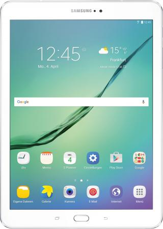 Планшет Samsung Galaxy Tab S2 9.7 32Gb белый Wi-Fi Bluetooth Android SM-T813NZWESER SM-T813NZWESER samsung galaxy s4 2 ядра dual 5 дюймов wi fi duos android 4 0 2 sim