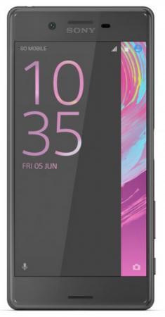 """Смартфон SONY Xperia X Dual черный 5"""" 64 Гб NFC LTE Wi-Fi GPS 3G F5122 цена и фото"""